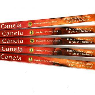 5 caixas de incenso Shankar Canela - 40 varetas