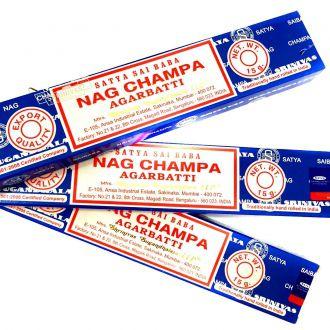 Kit 3 Caixas de Incenso Nag Champa Satya Sai Baba Agarbatti - Atacado