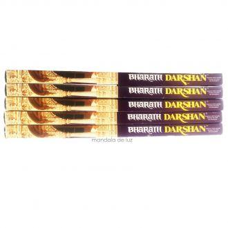 Kit 5 Incensos Darshan Bharath -  35 varetas
