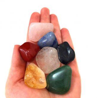 Kit de 7 Pedras para Harmonia e Equilíbrio M