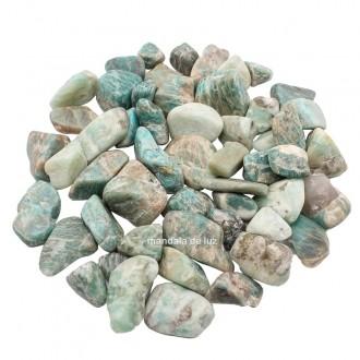 Kit de Amazonita Verde Pedra Natural Cristal M  Pedra do Ano 2021 500g
