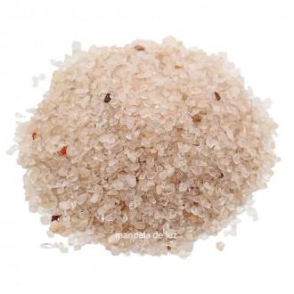 Kit de Cascalho de Quartzo Rosa Pedra Natural - Miúdo 500g