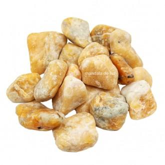 Kit de Pedra Calcita Laranja M  500g