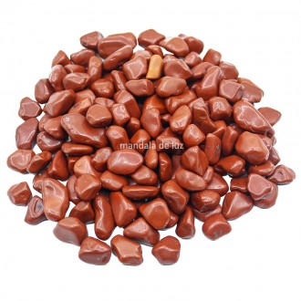 Kit de Pedra Jaspe Vermelho P 500g