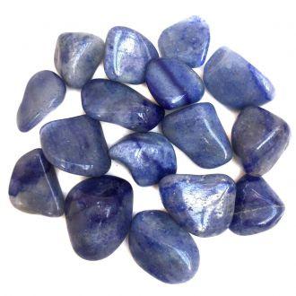 Kit de Pedra Quartzo Azul M 100g
