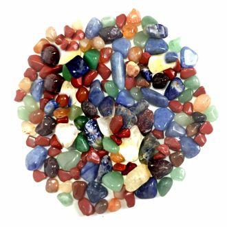 Kit de Pedras Cristais  Mistas 200 gramas