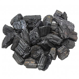 Kit de Turmalina Negra Bruta Natural 500g