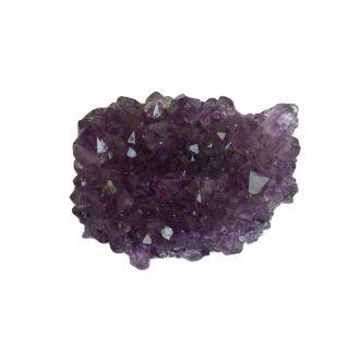Mini Drusa de Ametista Pedra Natural Bruta PP
