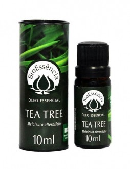 Óleo Essencial Natural Puro de Tea Tree Melaleuca BioEssência 10ml