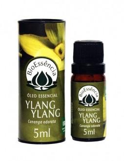 Óleo Essencial Natural Puro de Ylang Ylang BioEssência 5ml - Cananga Odorata