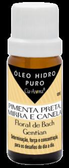 Óleo Hidrossolúvel Puro Essência Vegana Pimenta Preta, Mirra e Canela com Florais 10ml