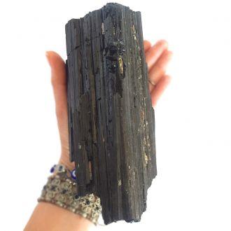 Pedra Grande Turmalina Negra Bruta