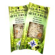 Sal de Banho Aromatizado 7 ervas