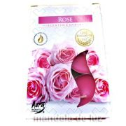 Velas Perfumadas Rose Tealights Scented Candles