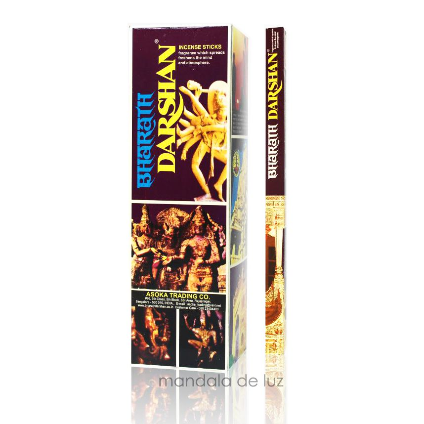 Box 25 caixas de Incenso Darshan Bharath - Atacado