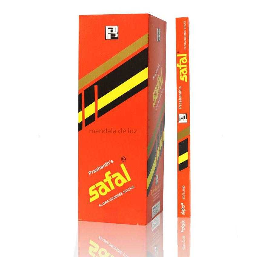 Box com 25 caixas de Incensos Safal Massala Prashant Agarbathi - Atacado