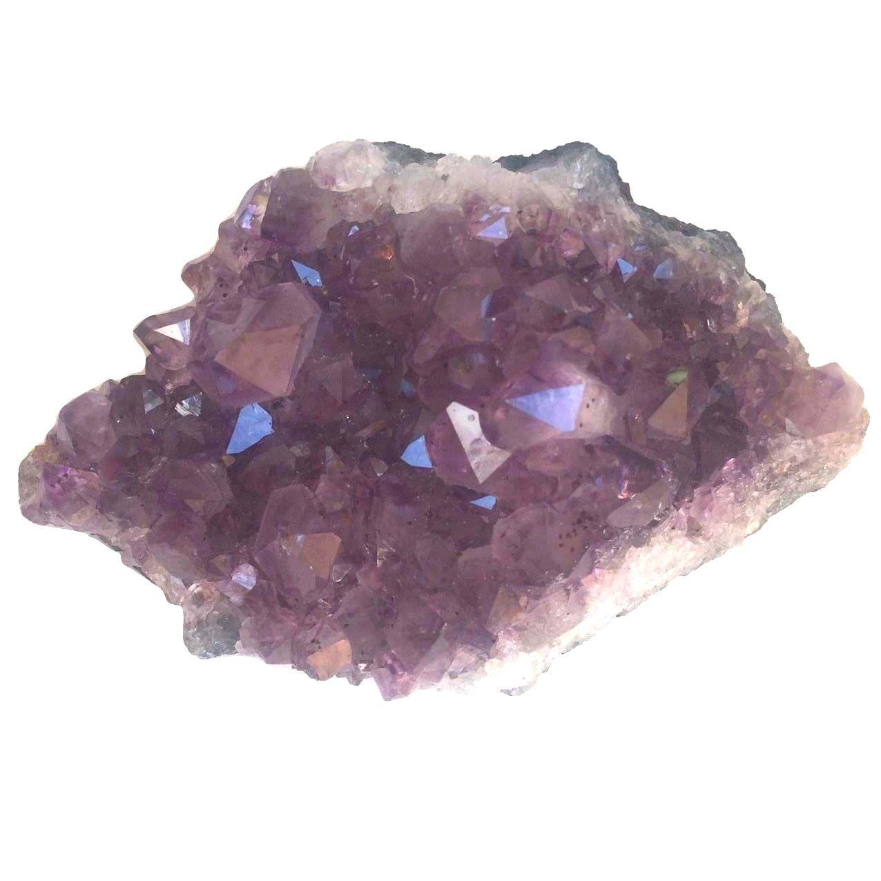 Drusa de Cristal Ametista Pedra Natural Bruta 450g