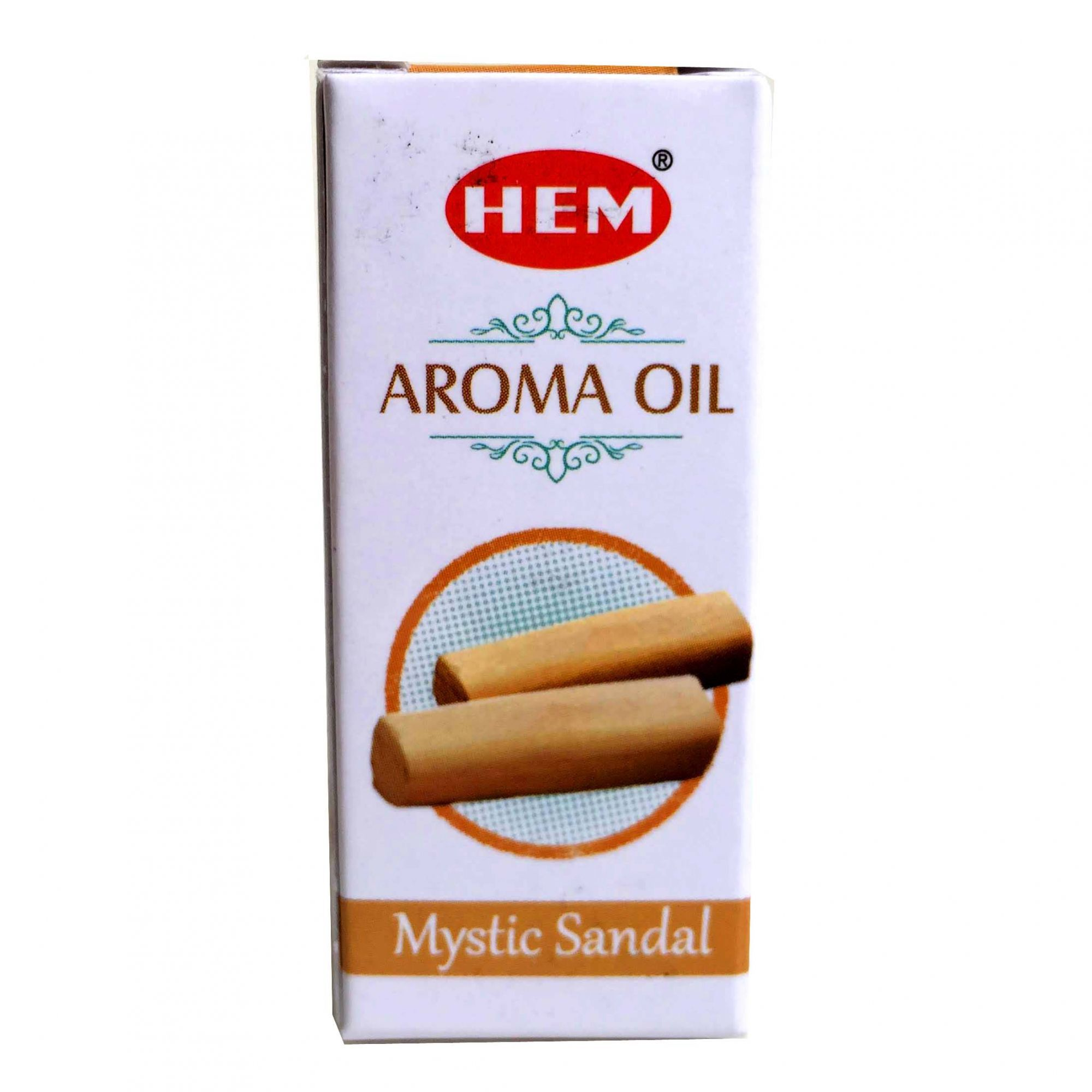 Essência HEM Mystic Sandal - Sândalo Aroma Oil 10ml