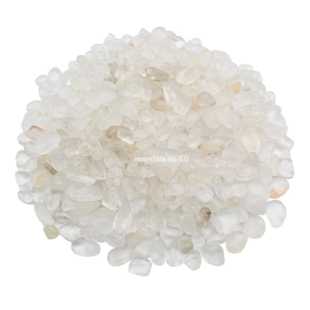 Kit de Cristal Quartzo Transparente P 500g