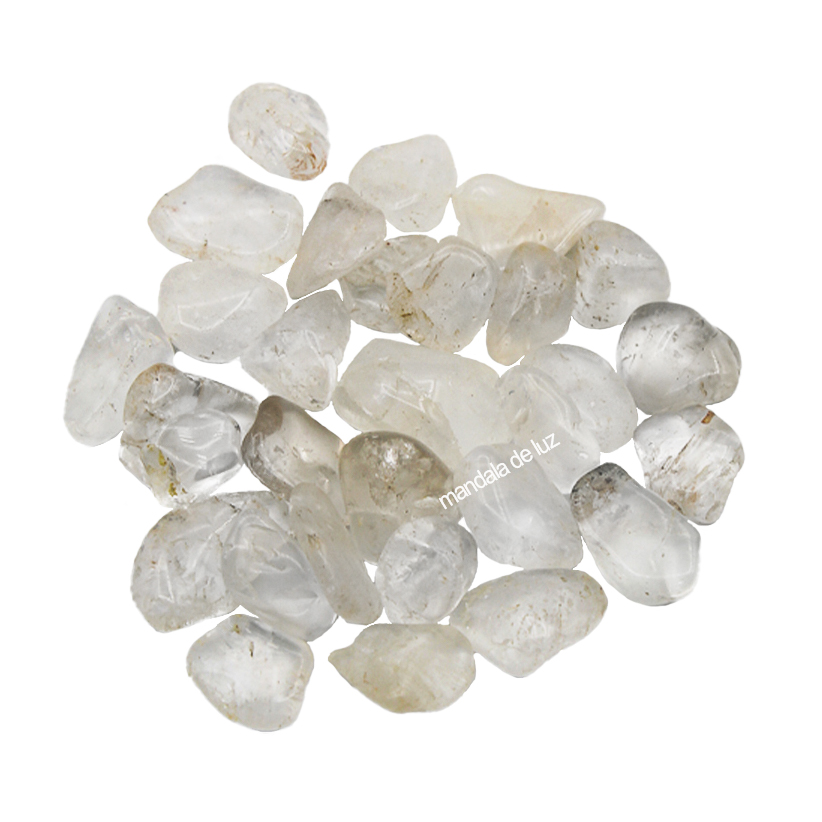Kit de Cristal Quartzo Transparente Pedra Natural P 100g