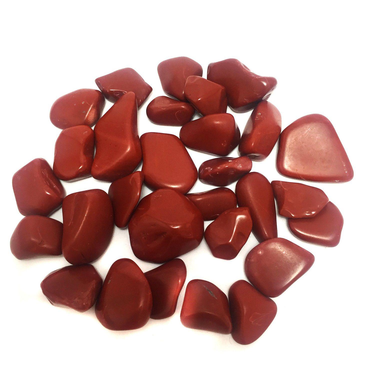 Kit de Pedra Jaspe Vermelho P 100g