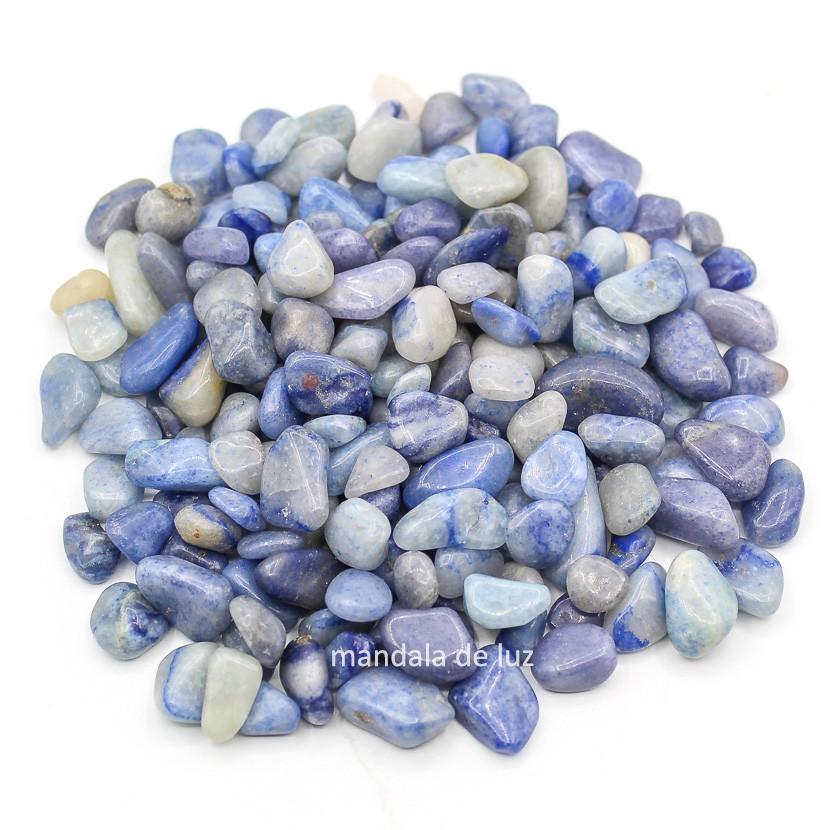 Kit de Pedra Quartzo Azul P 500g