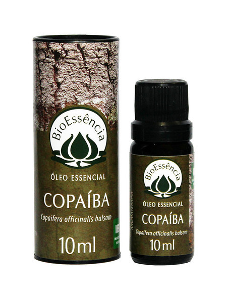 Óleo Essencial Natural Puro de Copaíba BioEssência 10ml