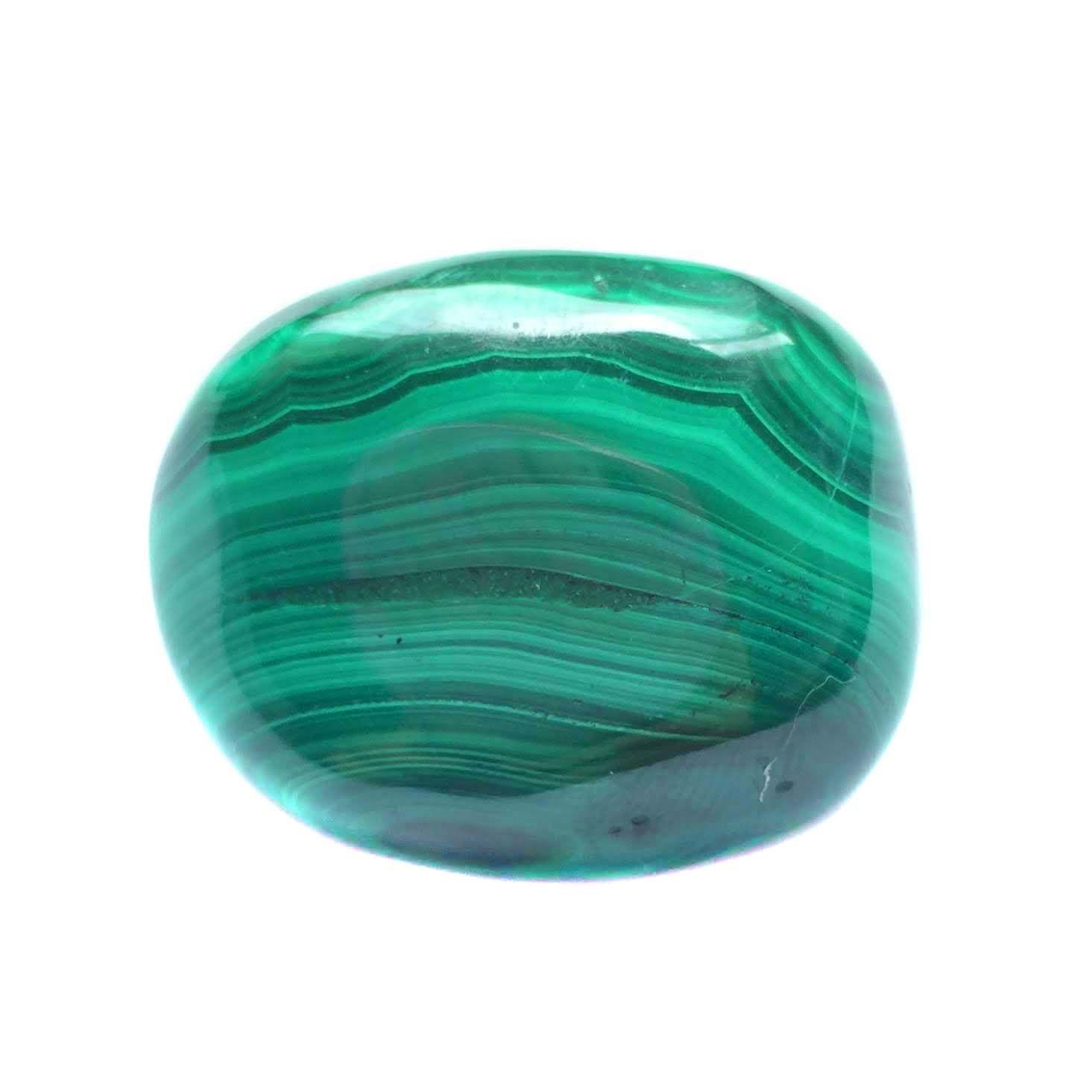 Pedra Malaquita Polida P