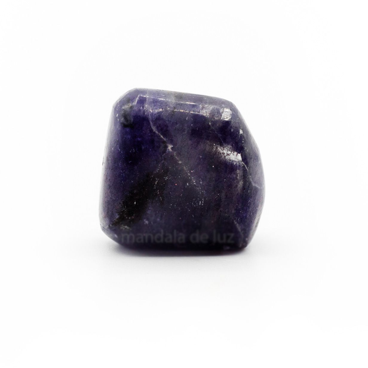 Pedra Safira d'água Cristal Natural