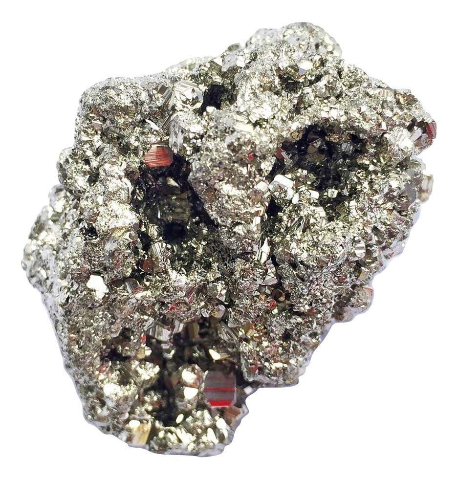 Pedra Pirita Bruta Prosperidade Pequena