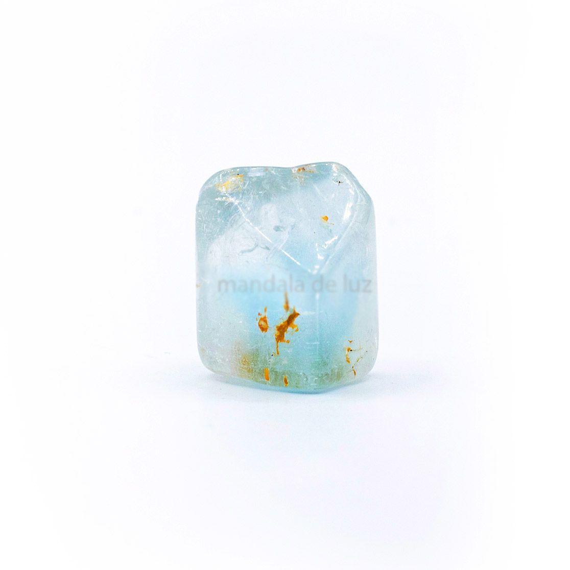 Pedra Topázio Azul Cristal Natural