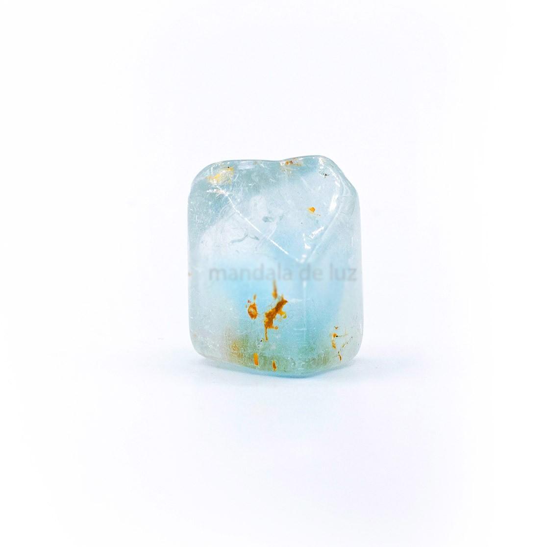 Pedra Topázio Azul Cristal Natural P