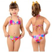 Biquini Infantil Estampado - P & S Moda Praia 316