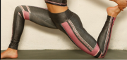 Legging Fitness Estampada-Corrente Marinha Ref:04.734