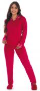 Pijama Feminino De Inverno Plush - Victory Ref: 21110