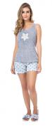 Pijama Feminino De Verão Regata-Victory Ref:21008