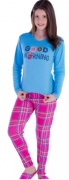 Pijama Juvenil Feminino Inverno Canelado - Victory 18141