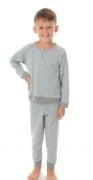Pijama Juvenil Masculino  de Inverno Canelado Victory- Ref 21148