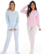 Victory-Ref: 21103 Pijama Feminino Canelado Madam