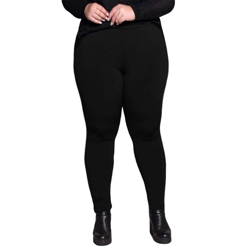 Calça Legging Plus Size Peluciada Térmica Suplex - Dicors 04.111