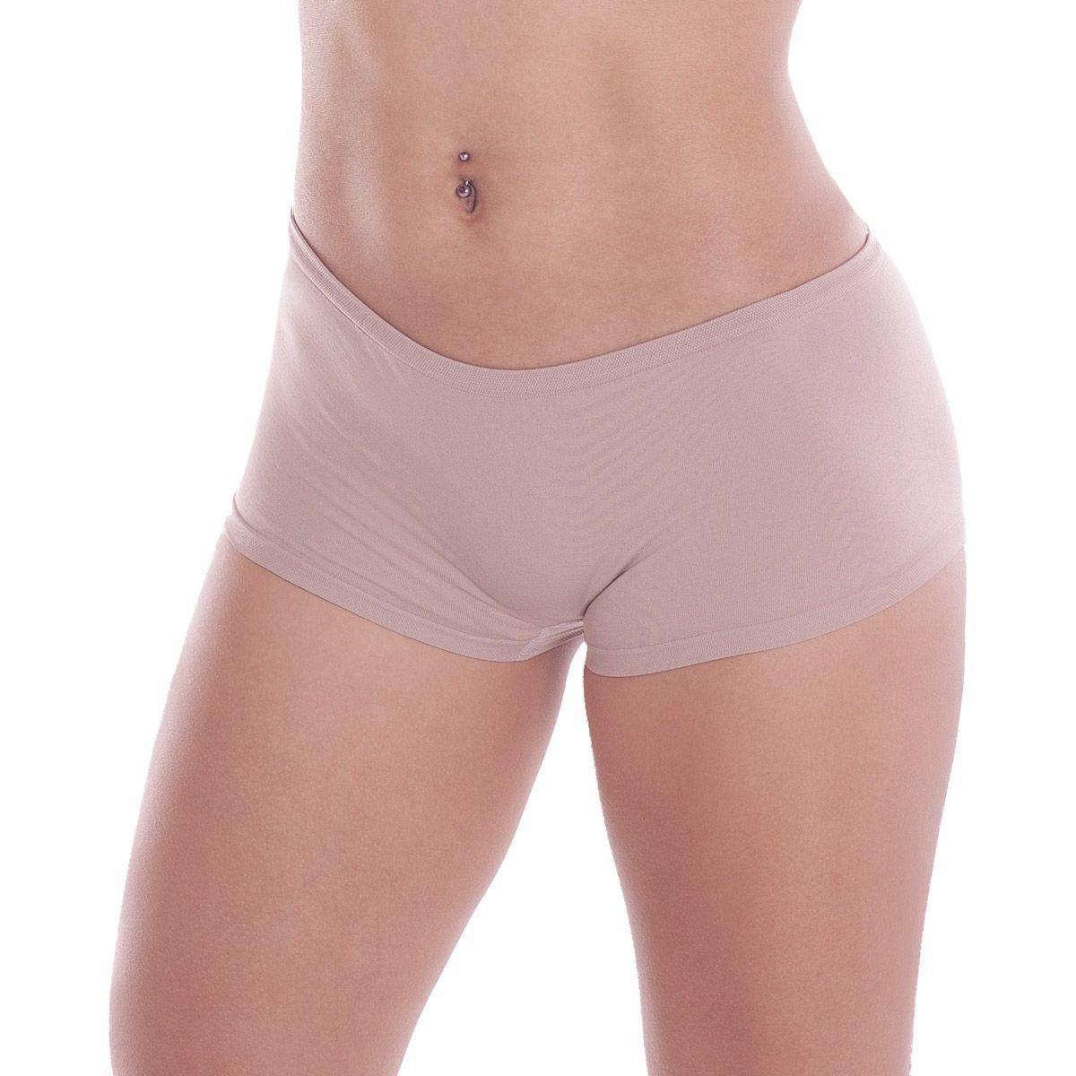 Calcinha Short Boy Sem Costura Microfibra - Trifil 03900