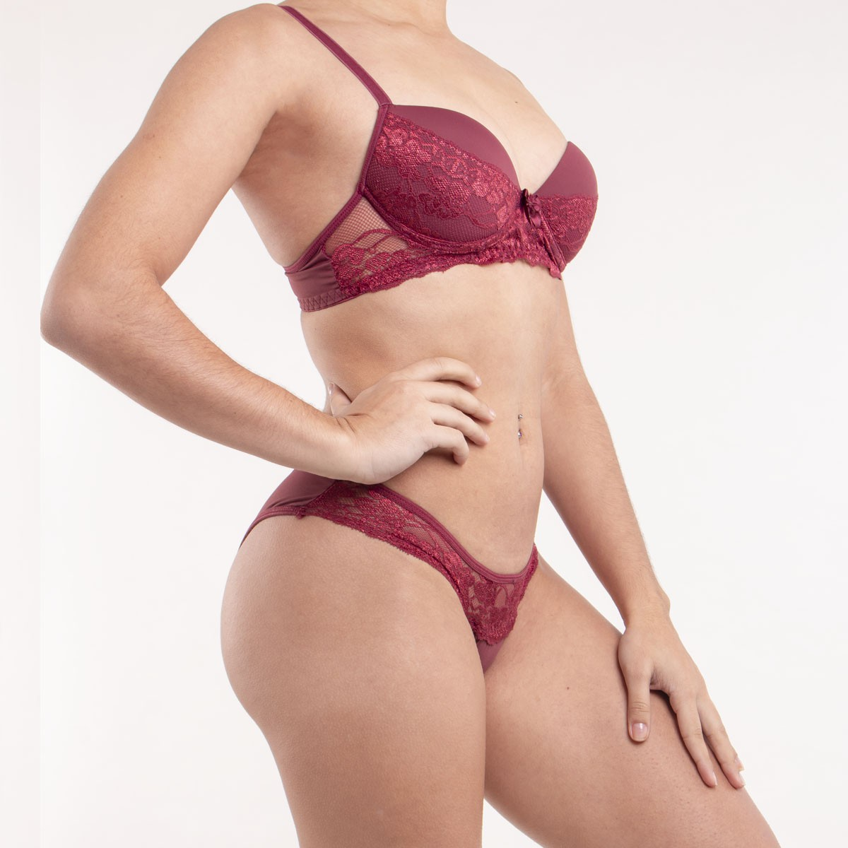 Conjunto Normal Tanga Micro Renda-Calixto´s 1036