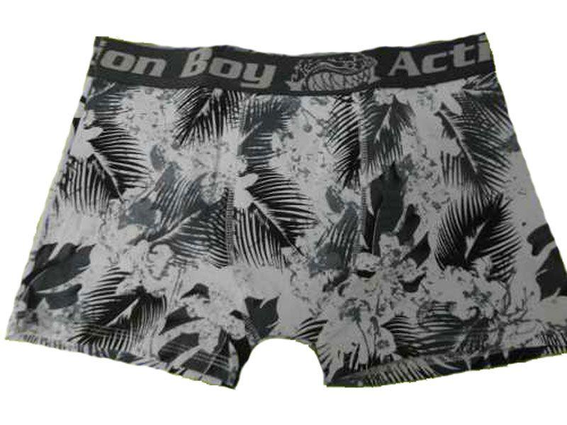 Cueca Boxer Algodão Estampada - Action Boy 31