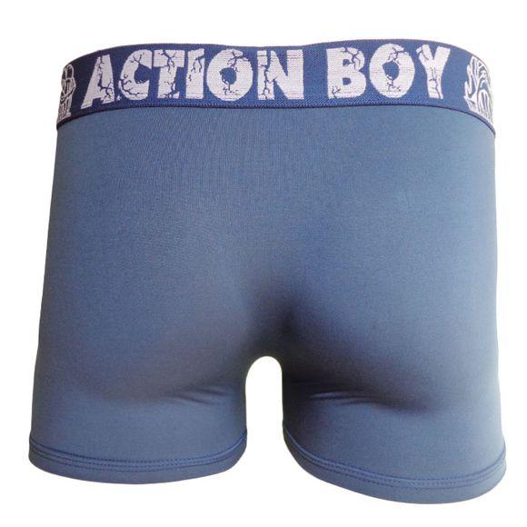 Cueca Boxer em Microfibra Lisa - Action Boy Ref 23
