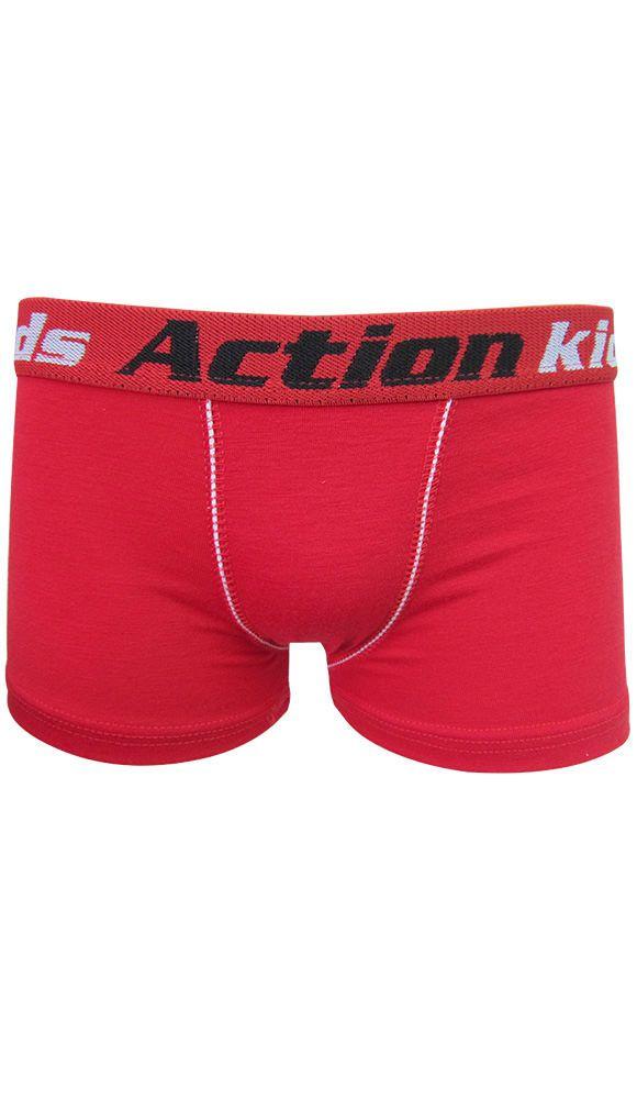Cueca Boxer Infantil em Algodão - Action Boy 28