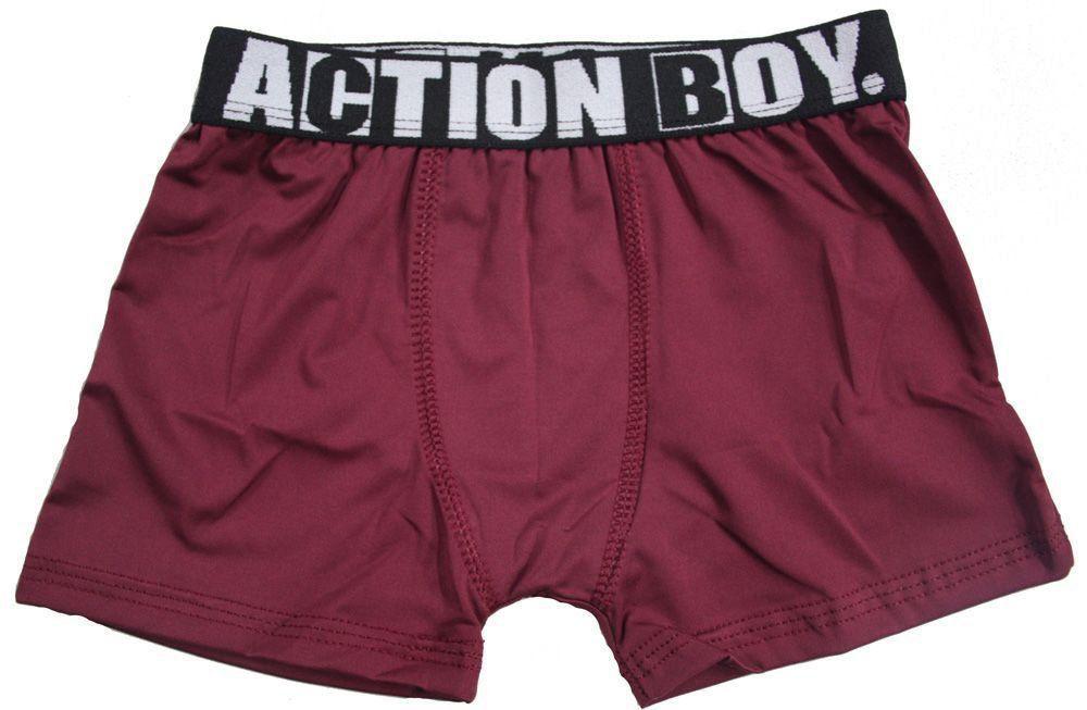 Cueca Boxer Infantil em Microfibra - Action Kids 29