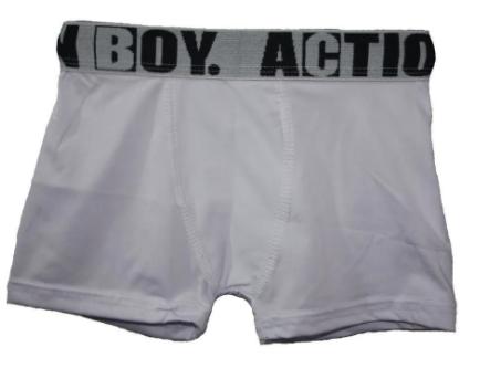 CUECA BOXER INFANTIL MASCULINA  ACTION KIDS - REF 029