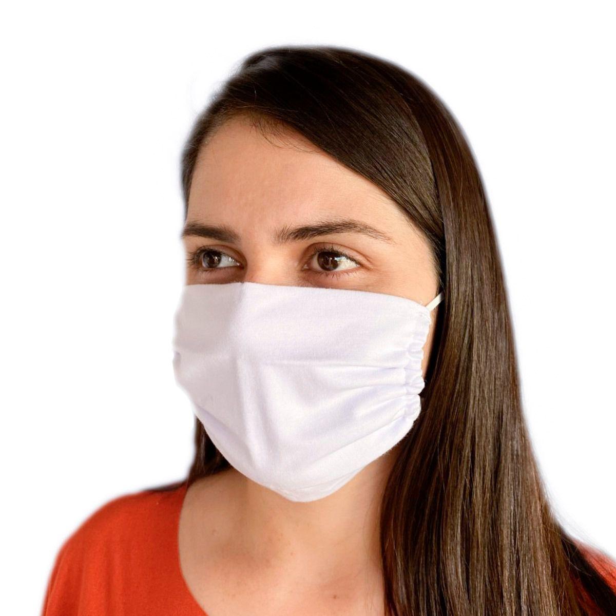 Kit Com 5 Máscaras De Proteção Em Algodão Reutilizável-Sedução 0019