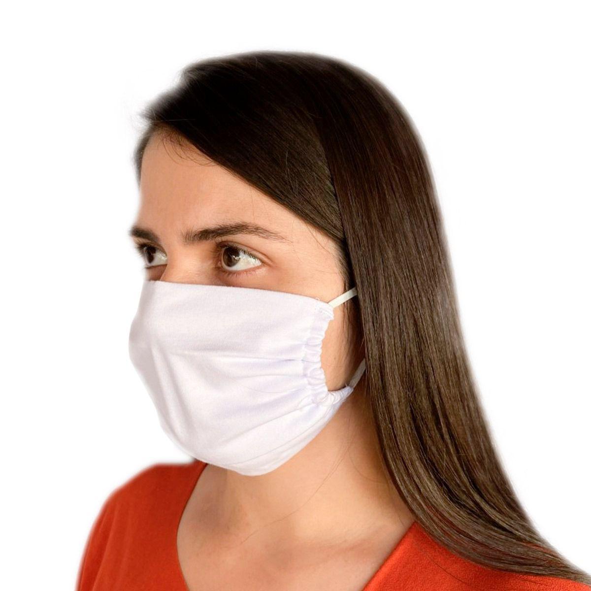 Máscara De Proteção Em Algodão Reutilizável Avulsa-Sedução 0019