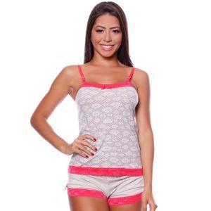 Pijama Camisete Soneca- Cheias De Graça 273
